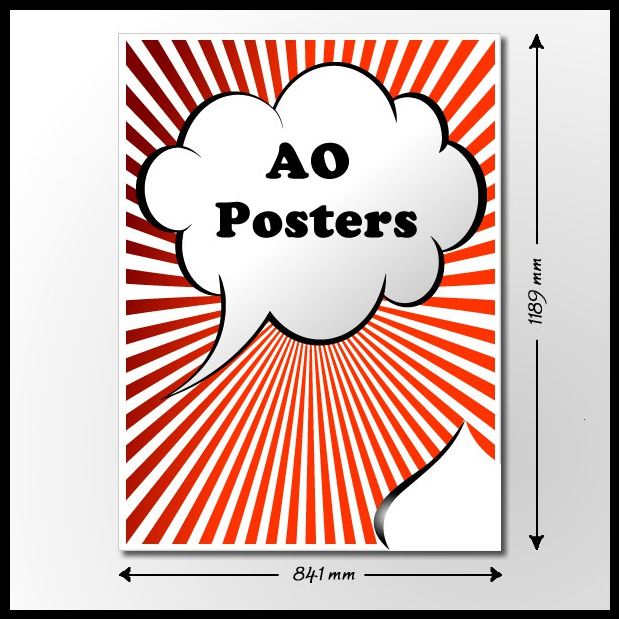 Cheap a0 poster printing online for same day or next day for Cheap prints and posters