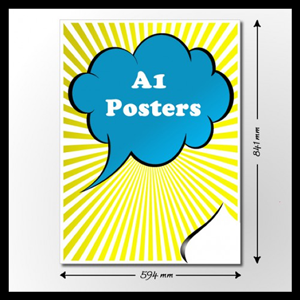 cheap a1 poster printing online for same day or next day