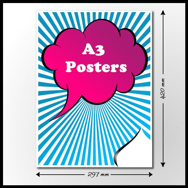 Cheap a3 poster printing online for same day or next day uk for Cheap prints and posters