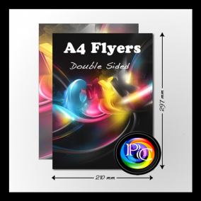 cheap a4 flyers printing