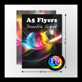 cheap a5 flyers printing