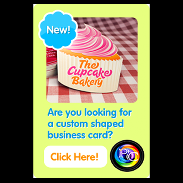Low cost Custom shaped business cards printing & Spot UV