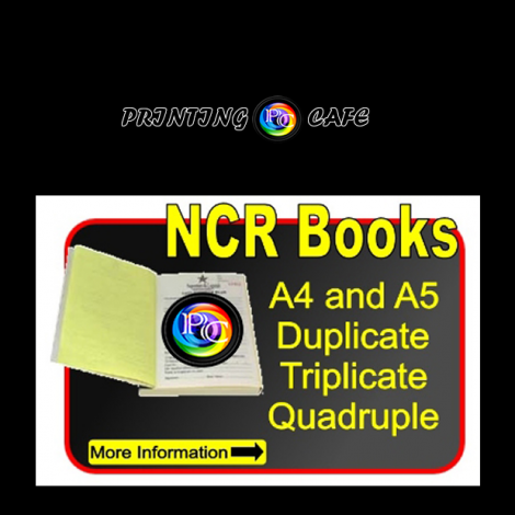Custom Carbonless Or NCR Forms And Receipt Books Printed Free - Custom invoice book printing