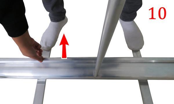 Roller banner assemble step 10